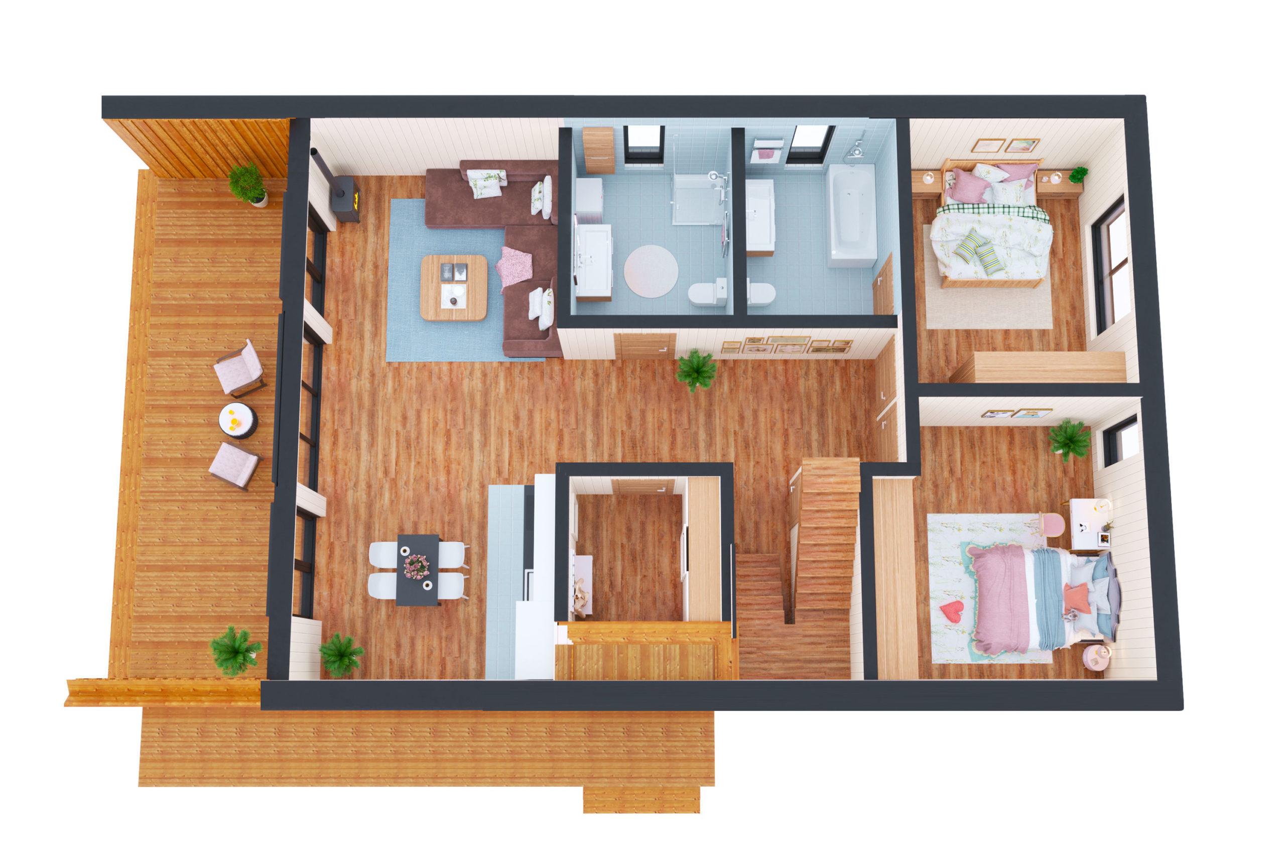 Планировка дома Инголь (Ingol) – фото 1
