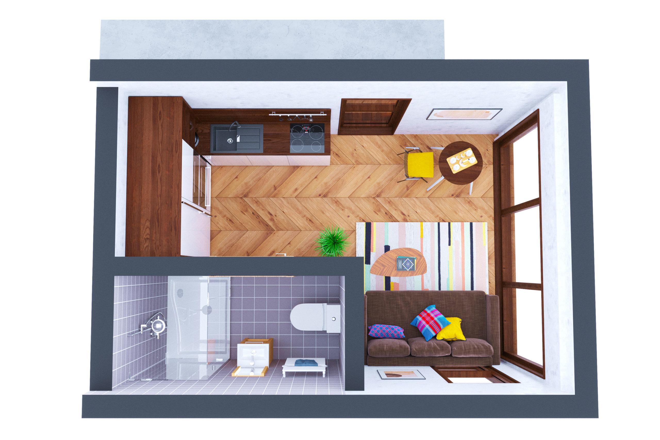 Планировка дома Гарда (Garda) – фото 1