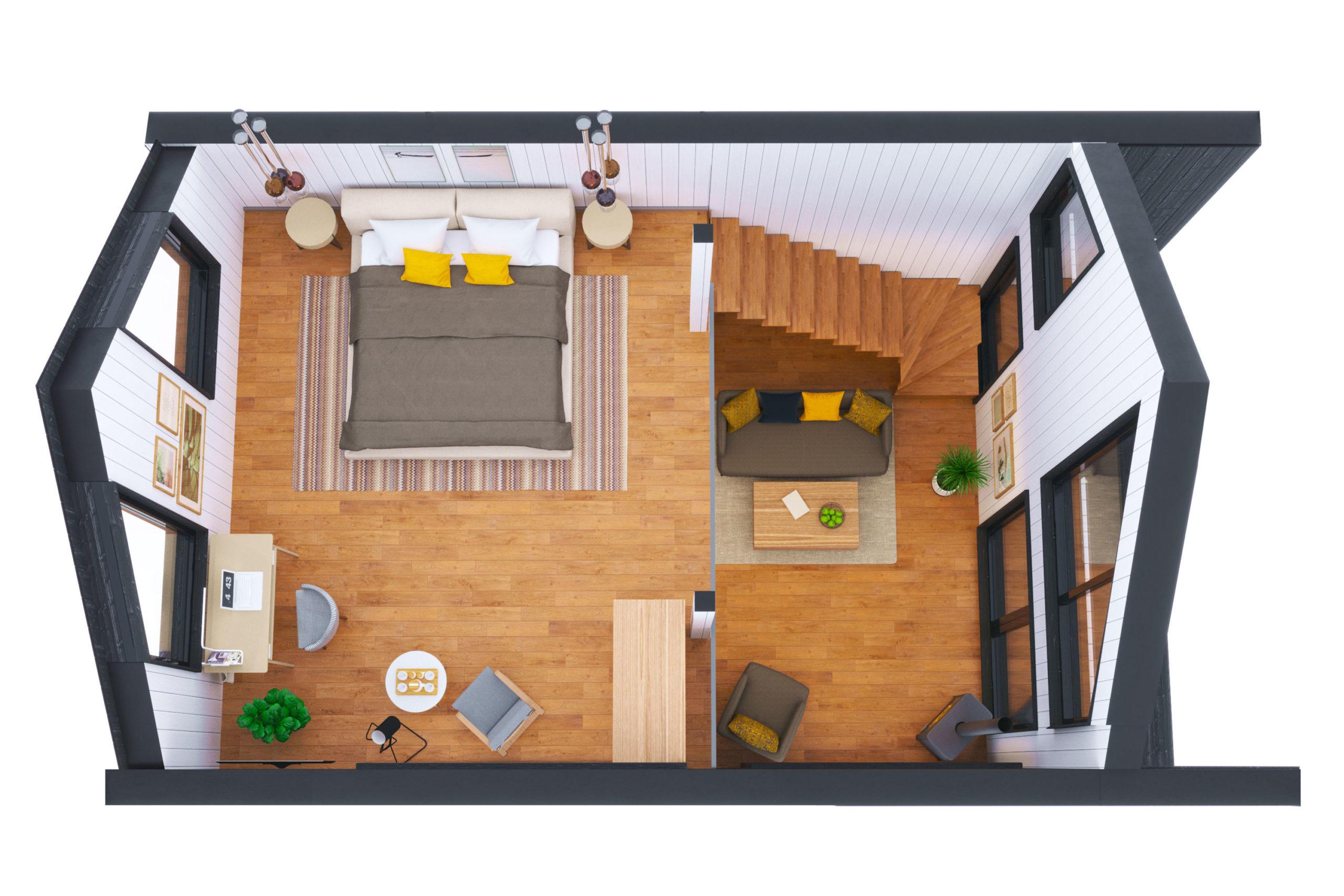 Планировка дома Бертран (Bertrand) – фото 2