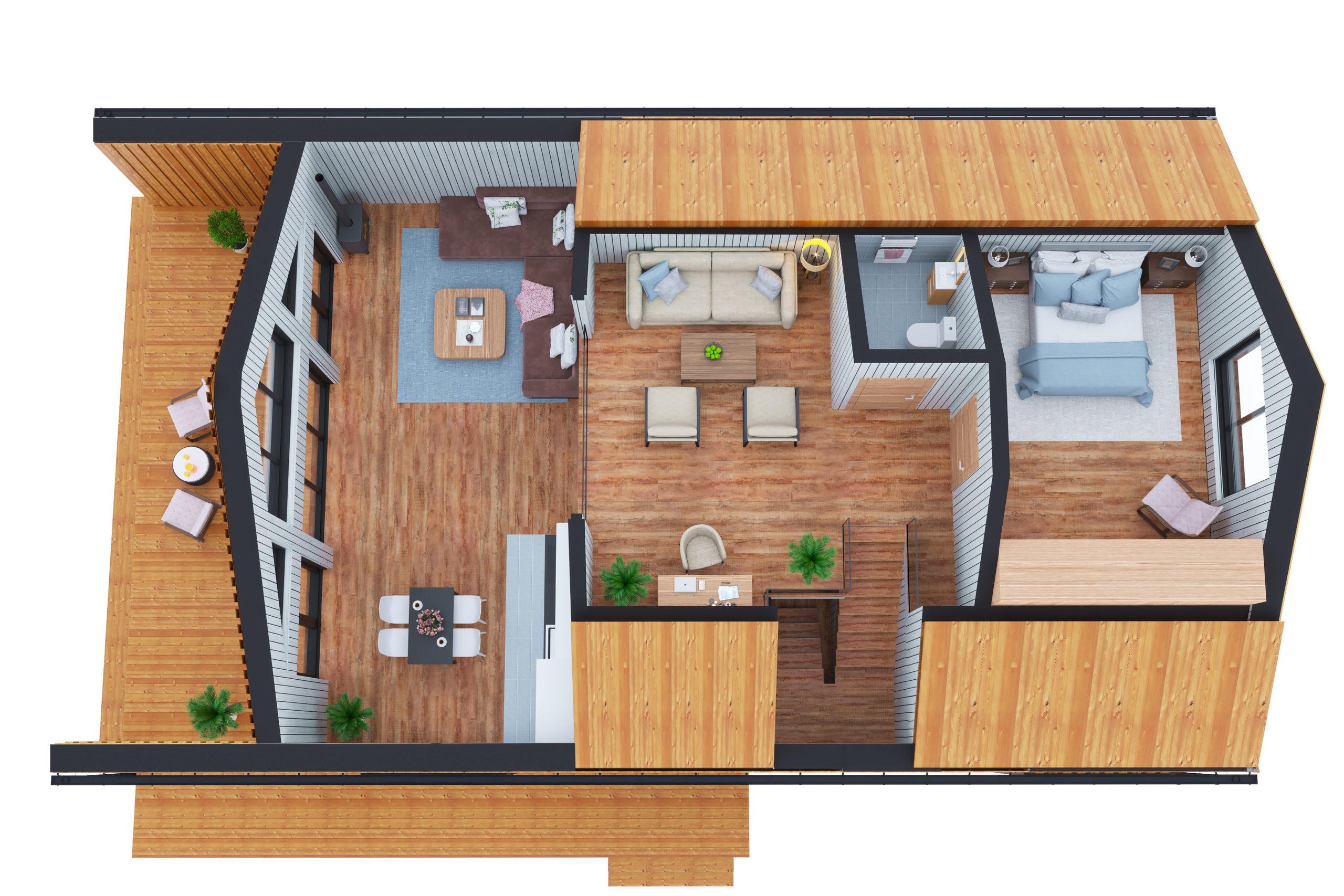 Планировка дома Инголь (Ingol) – фото 2