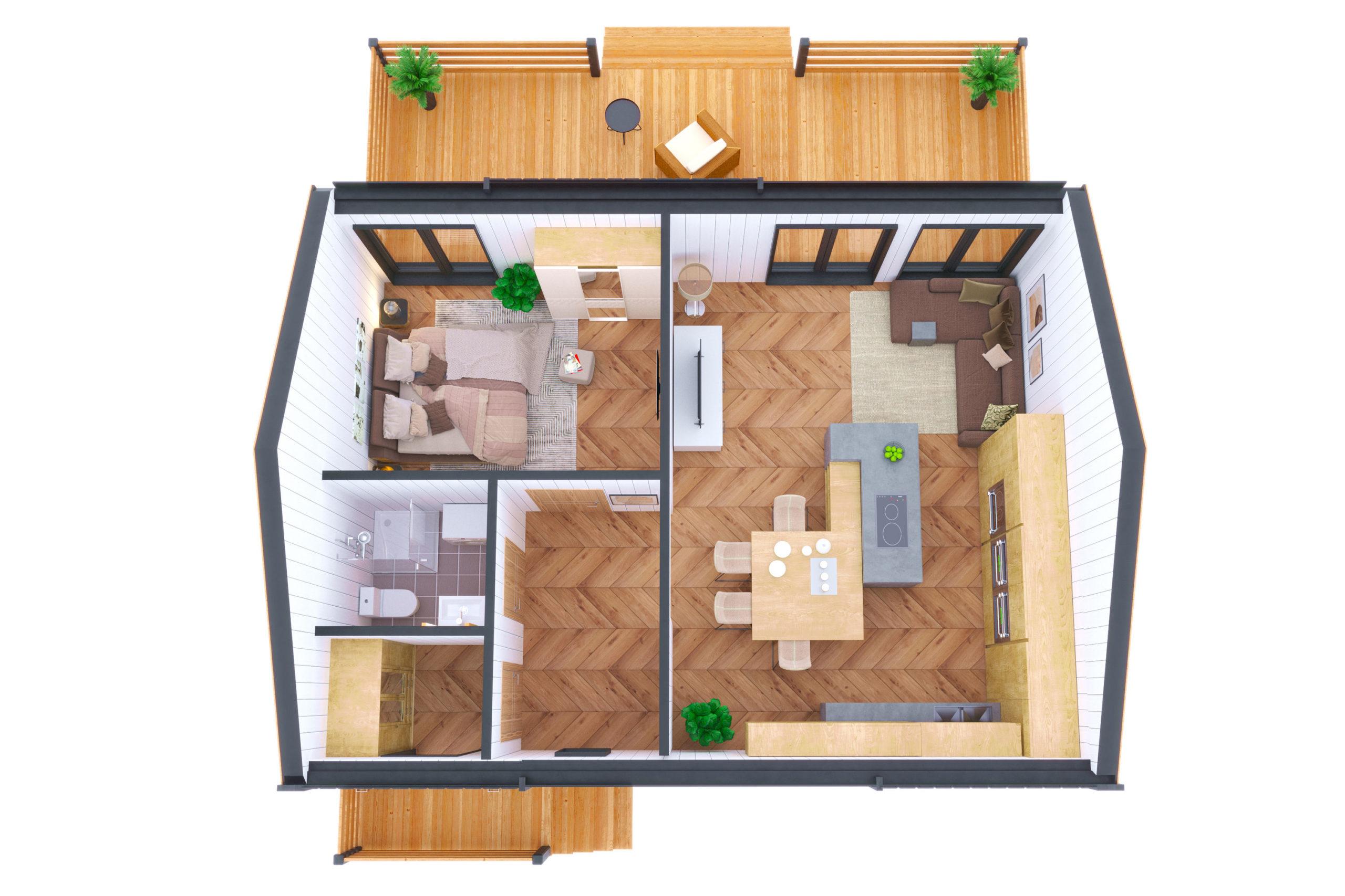 Планировка дома Сайма (Saimaa) – фото 1