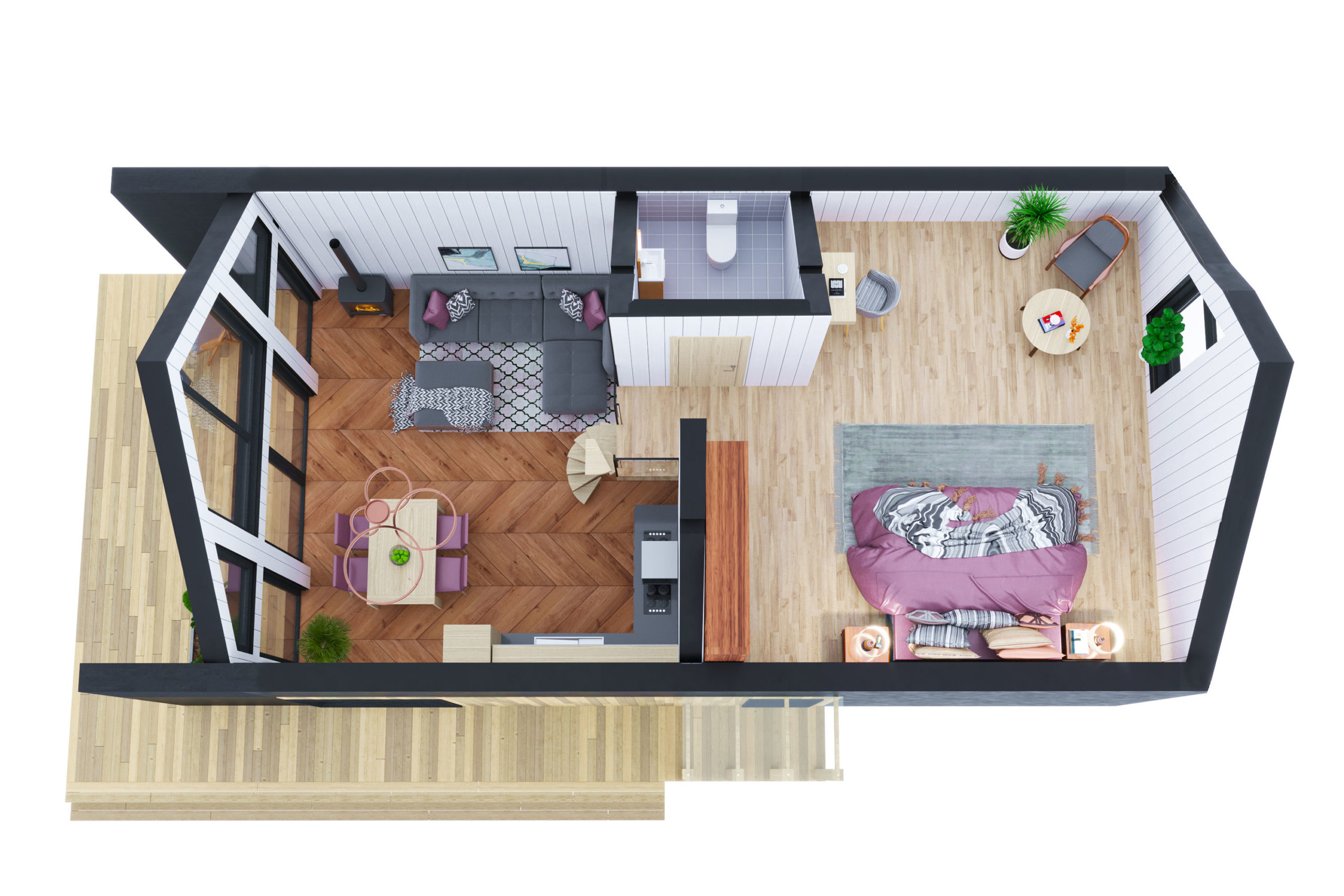 Планировка дома Рица (Ritsa) – фото 2