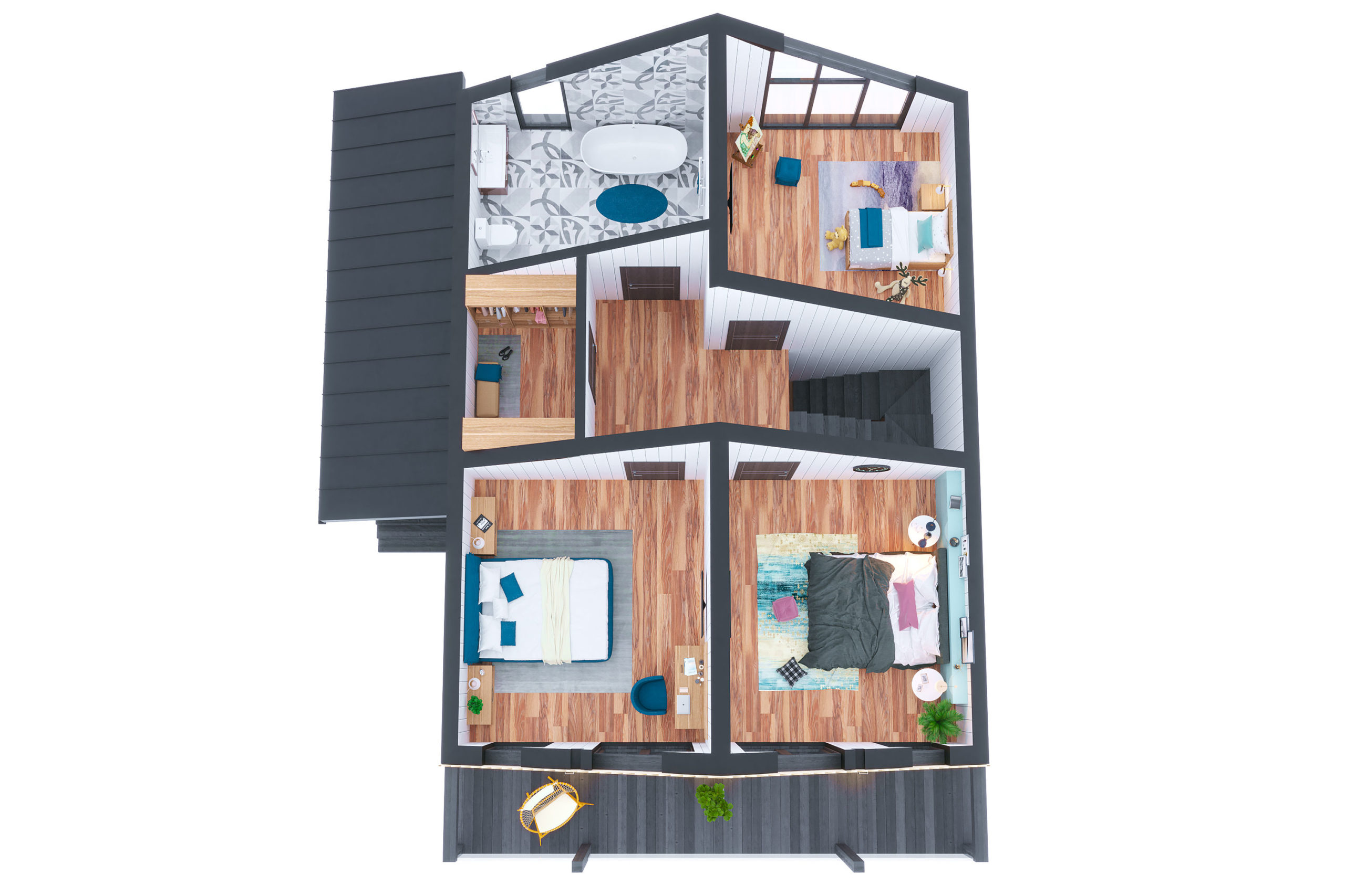 Планировка дома Леман (Leman) – фото 2